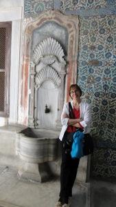Corinne in the harem